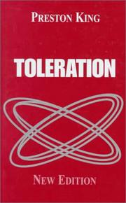 Cover of: Toleration | Professor King