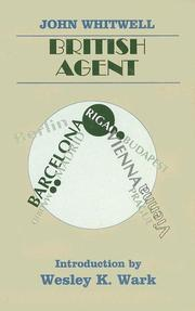 Cover of: British agent