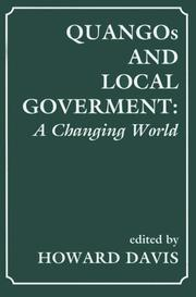 Cover of: QUANGOs and Local Government | Howard Davis