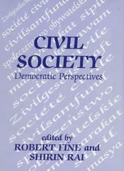 Cover of: Civil Society | Robert Fine