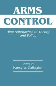 Cover of: Arms Control | N. Gallagher