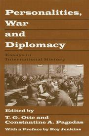 Cover of: Personalities, war and diplomacy