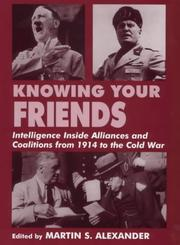 Cover of: Knowing your friends |
