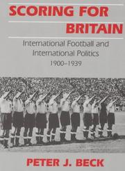 Cover of: Scoring for Britain