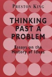Cover of: Thinking Past a Problem