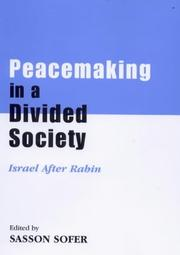 Cover of: Peacemaking in a Divided Society