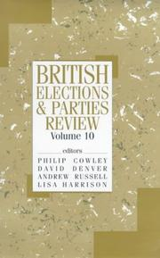 Cover of: British Elections and Parties Review (British Elections)