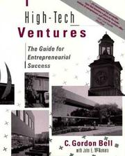 Cover of: High-tech ventures: the guide for entrepreneurial success