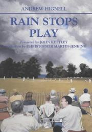 Cover of: Rain Stops Play | Andrew Hignell