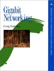 Cover of: Gigabit networking | Craig Partridge