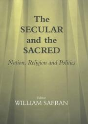 Cover of: The Secular and the Sacred