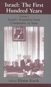 Cover of: Israel