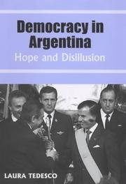Cover of: Democracy in Argentina