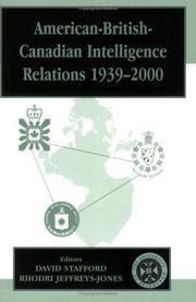 Cover of: American-British-Canadian Intelligence Relations, 1939-2000