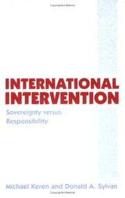 Cover of: International Intervention | Donald Sylvan