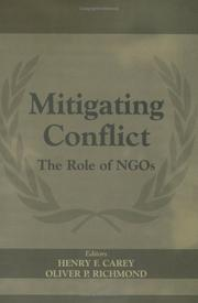 Cover of: Mitigating Conflict | Henry F. Carey