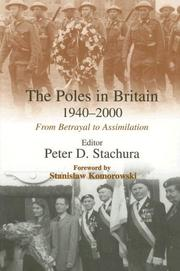 Cover of: The Poles in Britain, 1940-2000