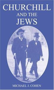 Cover of: Churchill and the Jews, 1900-1948 | Michael Cohen