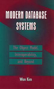 Cover of: Modern Database Systems