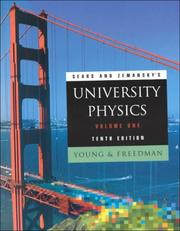 Cover of: University Physics, Vol. 1, 10th Edition