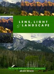 Cover of: Lens, Light and Landscape