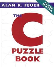The C puzzle book by Alan R. Feuer