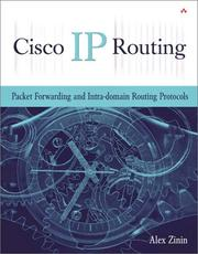 Cover of: Cisco IP Routing