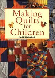 Cover of: Making Quilts for Children