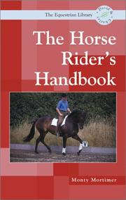 Cover of: Horse Riders Handbook (Equestrian Library (David & Charles))