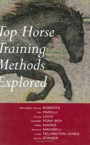 Cover of: Top Horse Training Methods | Anne Wilson