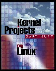 Cover of: Kernel Projects for Linux