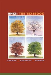 Cover of: Unix | Syed Mansoor Sarwar