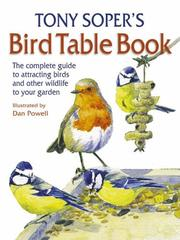 Cover of: Tony Soper's Bird Table Book