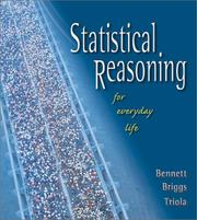 Cover of: Statistical Reasoning for Everyday Life | Jeffrey O. Bennett