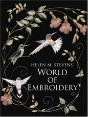 Cover of: Helen M. Stevens World of Embroidery