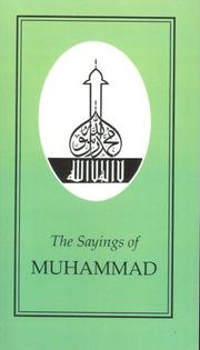 Sayings of Muhammad (Sayings of the Great Religious Leaders)