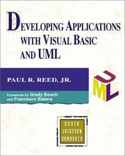 Cover of: Developing Applications with Visual Basic and UML The Addison-Wesley Object Technology Series)