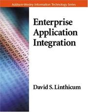 Cover of: Enterprise Application Integration (Addison-Wesley Information Technology Series) | David S. Linthicum