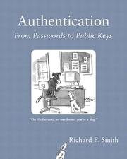 Cover of: Authentication