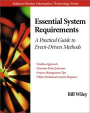 Cover of: Essential System Requirements
