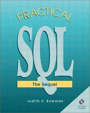 Cover of: Practical SQL The Sequel
