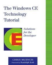 Cover of: The Windows CE Technology Tutorial