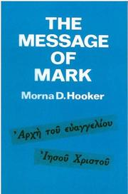 Cover of: The Message of Mark