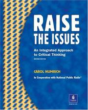 Cover of: Raise the issues