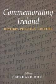 Cover of: Commemorating Ireland | Eberhard Bort