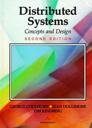 Distributed systems by George F. Coulouris