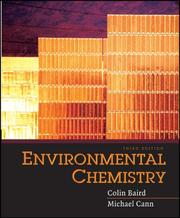 Cover of: Environmental chemistry