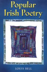 Cover of: Popular Irish Poetry | Louis Bell