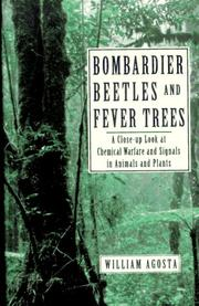 Cover of: Bombardier Beetles and Fever Trees | William C. Agosta