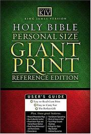 Cover of: King James Compact Giant Print Reference Bible |
